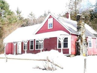 4 Bed Room, 2 Bath Vermont Farm House