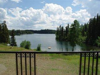 Two Bedroom Luxury Waterfront Home On Bridge Lake