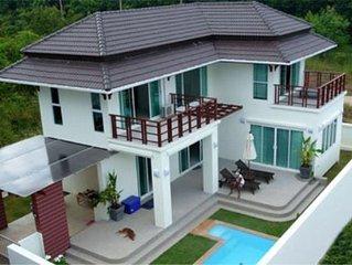 Amazing deals! Sea view villa with private swimming pool