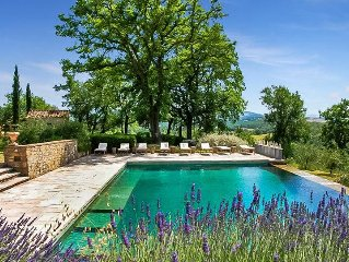 Le Porciglia on winery, idyllic panoramic views w