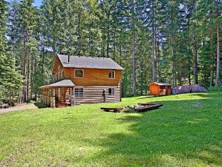 Lazy Elk Lodge At Mount Rainier - Hot Tub!