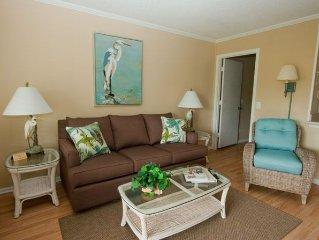 Ocean Dunes Villa 114 - 1 Bedroom 1 Bathroom Oceanfront Flat