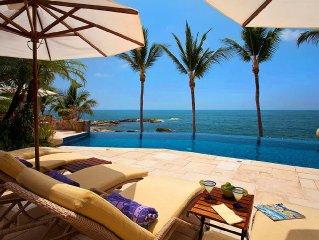 Oceanfront Villa Amapas II has Pool, Outdoor ****