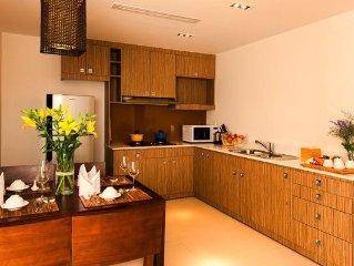 2 BR Premium Suite,Full Kitchen,Sea view