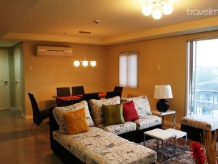 Spacious 2BR flat in McKinley Hill