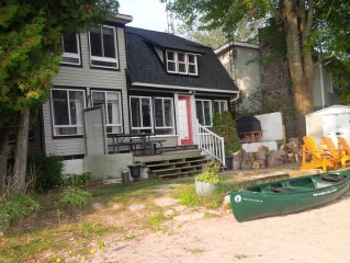 Waterfront Cottage In Orillia
