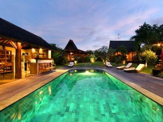 Quiet & Exotic 3 Bedroom Villa Canggu