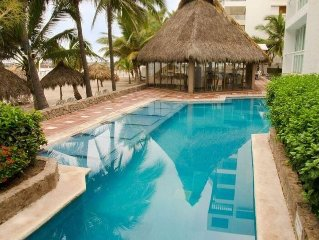 Nuevo Vallarta 1BR Suite with balcony, full kitch