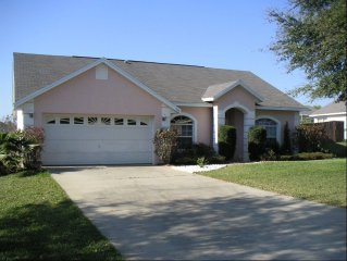4 bed 2 bath pool home with huge pool and covered lanai, ideal for chilling afte