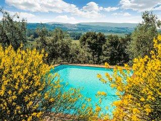 Il Roseto- serenity of the countryside in restore