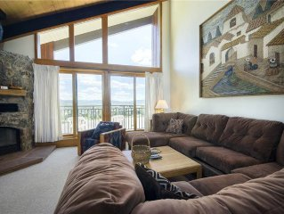 Large 4-bedroom with private sauna ~ easy walk to ski village, on-call shuttle!