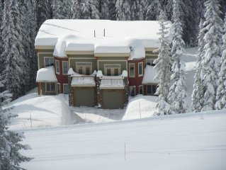 Luxury Mountain Home with Excellent Ski in/out to
