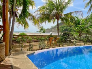 SALE - 30% OFF: KAWAMA - Beachfront Home on Playa