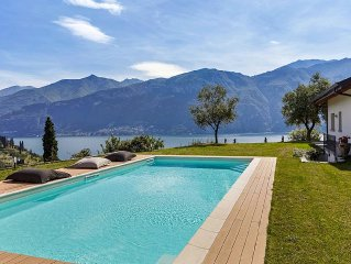 Stunning Hilltop Villa del Sole with Gym, Pool &