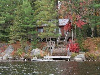 Rustic cabin in the woods - True algonquin experi