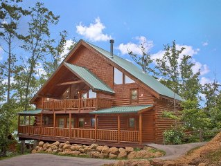 Majestic View A #42A - Large 4 bedroom cabin with