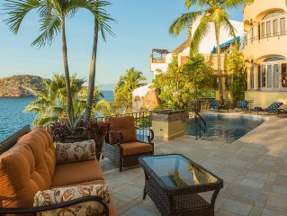 Ocean Views, Private Beach, Chef Service - Villa
