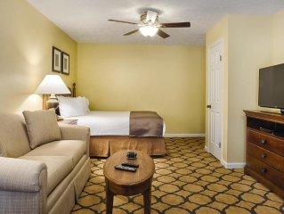 Williamsburg, Virginia: Renovated Studio Suite - Summer Rates as low as $93