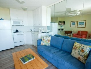 Seaside Villa 325 - 1 Bedroom 1 Bathroom Oceanfront Flat  Hilton Head, SC