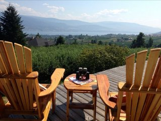 Enjoy Sweeping Orchards and Lake Views