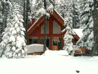 Beautiful Cabin with Spectacular View of Mountain