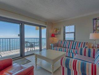 Ocean Breeze West 606 Perdido Key Gulf Front Vacation Condo Rental - Meyer Vaca