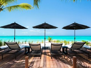 Contemporary Beachfront Villa with Breathtaking P