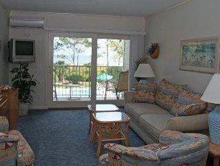 2 Bedroom 2 Bathroom Oceanfront Flat  at Beachwood Place, Hilton Head, SC