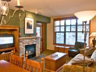 Convenient 2 bedroom condo in Mammoth Village