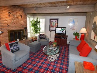 Along the river 1 bedroom condo,5 blocks from downtown Aspen, Club passes inclu