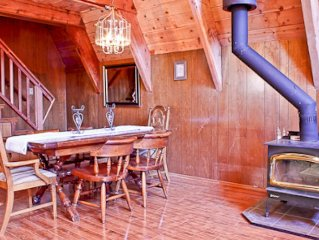 Charming A-Frame Cabin with Loft
