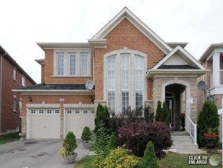 Fully Furnished Executive Home - Brampton Canada