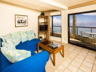 Poipu Shores - 2BR Deluxe Oceanfront  #205A