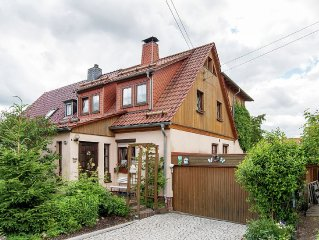 Holiday apartment in the Thuringian Forest near the Rennsteig ridgeway