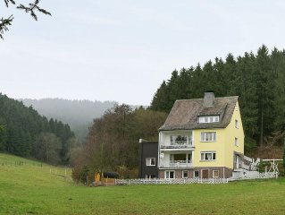 A group house for 18 people in a National Park.