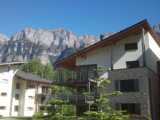 Comfortable penthouse located at Resort Walensee, with facilities not far from