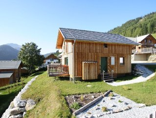Luxury wooden chalet with wellness, 300m from the lift at 1300m altitude