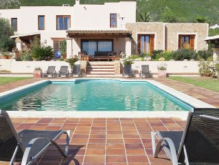 Detached villa,featuring private swimming pool and close to Ibiza Town