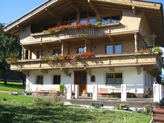 A comfortable holiday home near the Zillertal Valley's two largest ski-areas