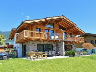 High-quality chalet close to Kaprun with its own spa