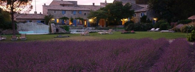 Domaine des Roches- 11 bd parkland villa with a natural rock jacuzzi in Provence