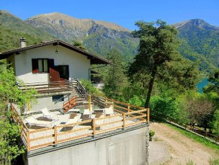 In a dominant position overlooking Lake Ledro
