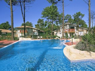 Apartment in green surroundings of Gujan-Mestras (6 km) in southern France