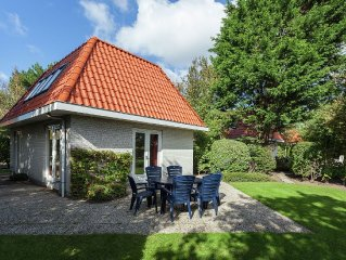 Detached villas with Wi-Fi, situated in a park near the North Sea and the beach