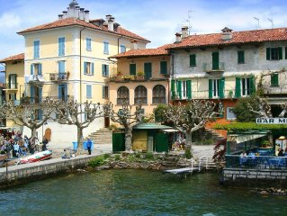 Only 10 metres from the shores of Lake Maggiore