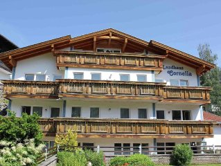 Country house with apartments, wellness centre and beautiful mountain view on t