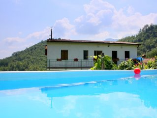 Welcoming Holiday Home with Private Swimming Pool in Molazzana