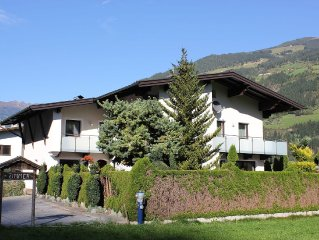 Spacious apartment in the Zillertal, close to the famous skiing areas