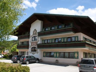 Property in the heart of Flachau with lots of facilities