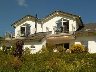 modern apartment in rural setting